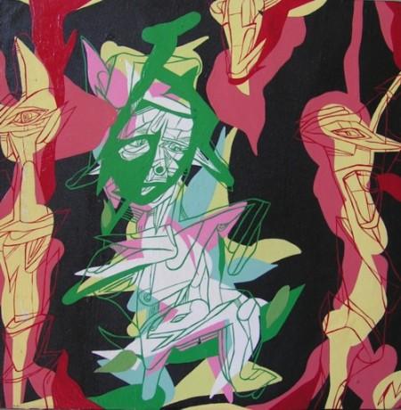 Autoritratto pensieroso nel bordella della vita, 2007