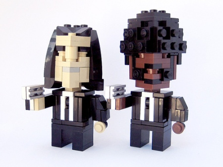 Cube Dudes Blues Brothers