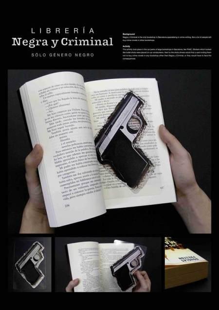 gun bookmark